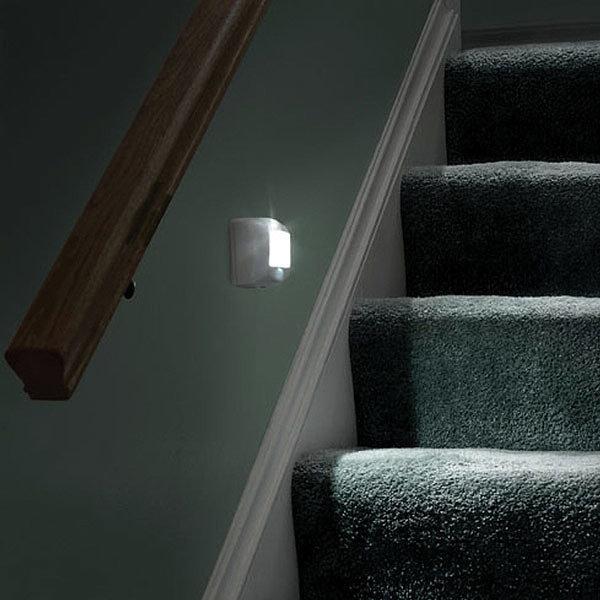 Светильники с датчиком движения для лестницы
