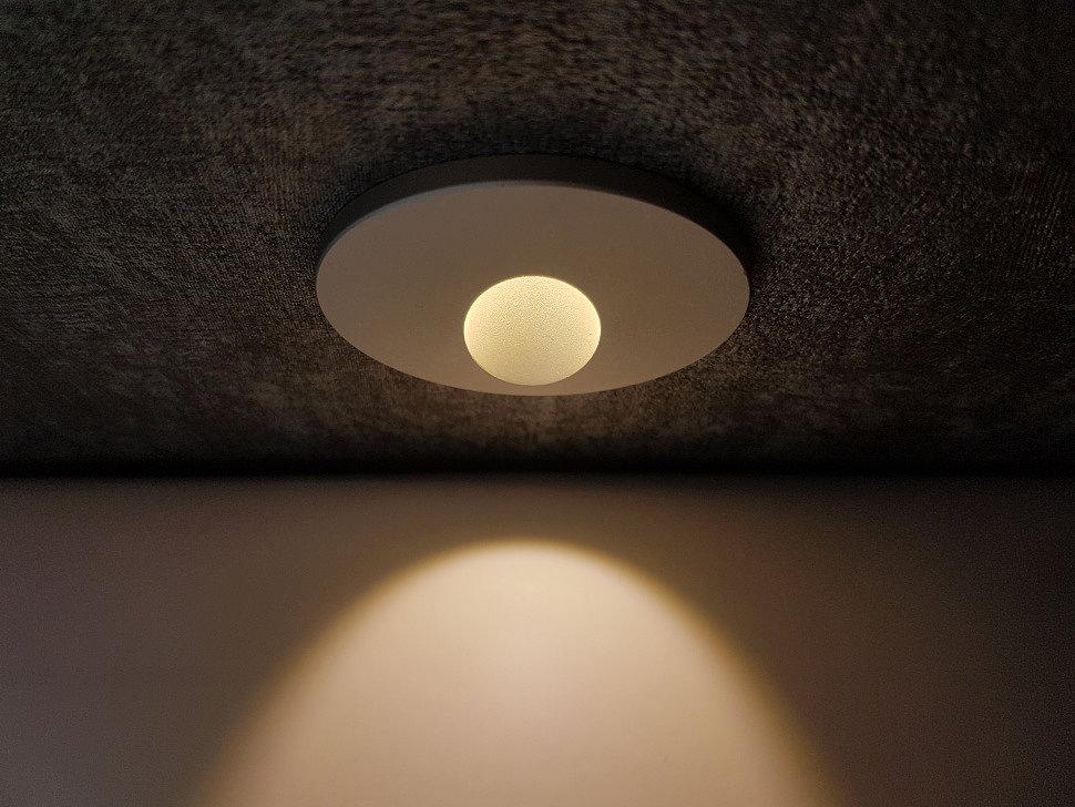 Светильники встраиваемые для подсветки ступеней