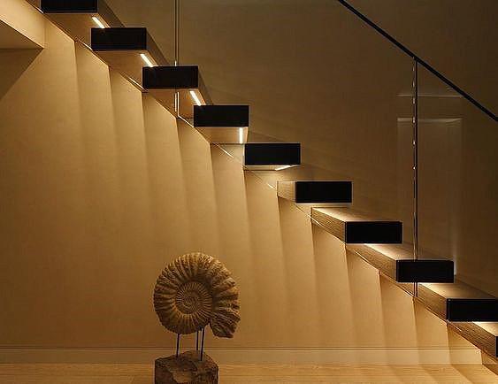 Светодиодная лента для ступеней лестницы