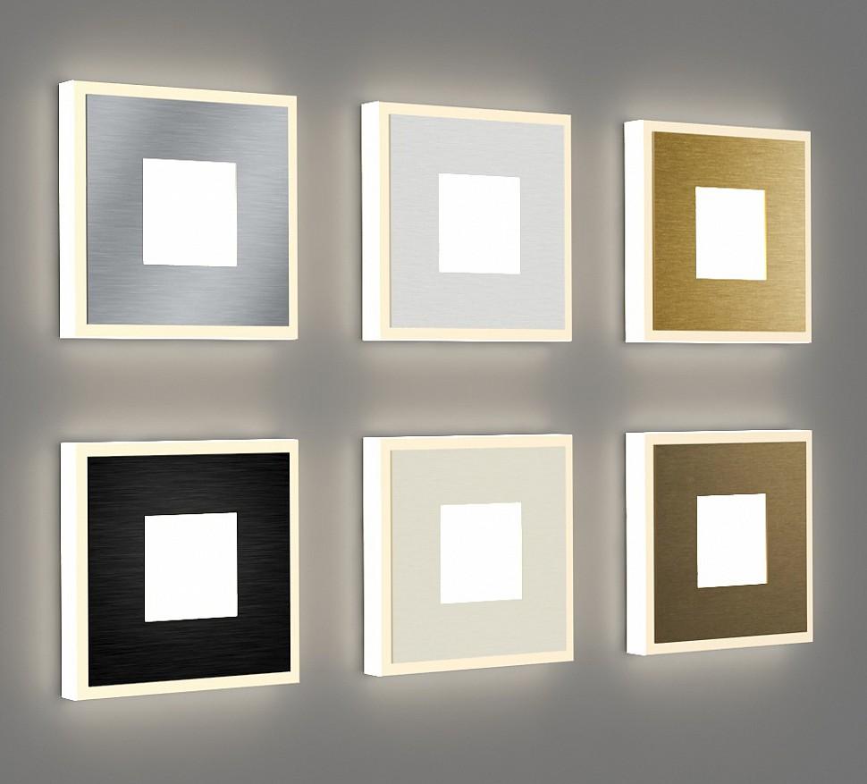 Квадратные светильники для подсветки ступеней лестницы