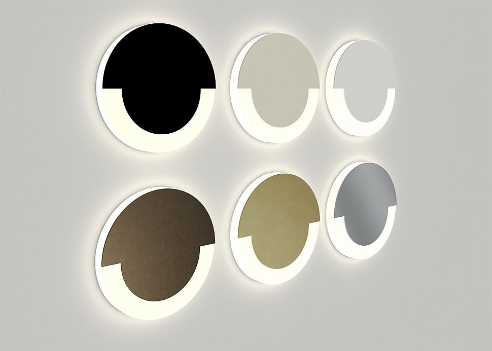 Круглые встраиваемый светильники для лестницы
