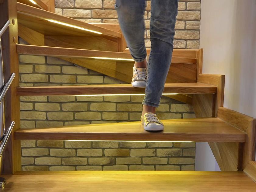 Ардуино автоматическая подсветка лестницы
