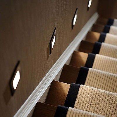 Светильник для лестницы в подрозетник