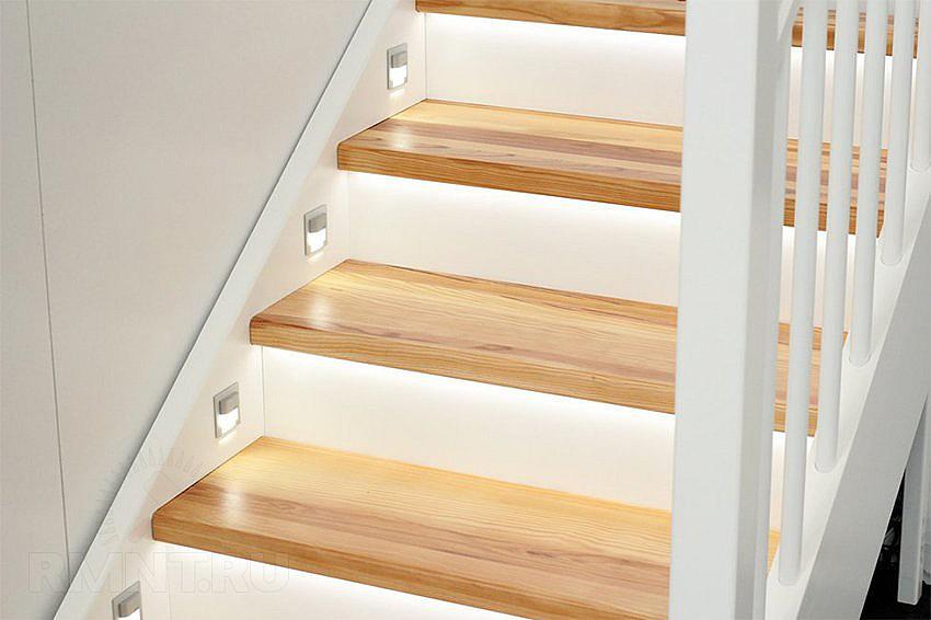 Накладные светильники для лестницы