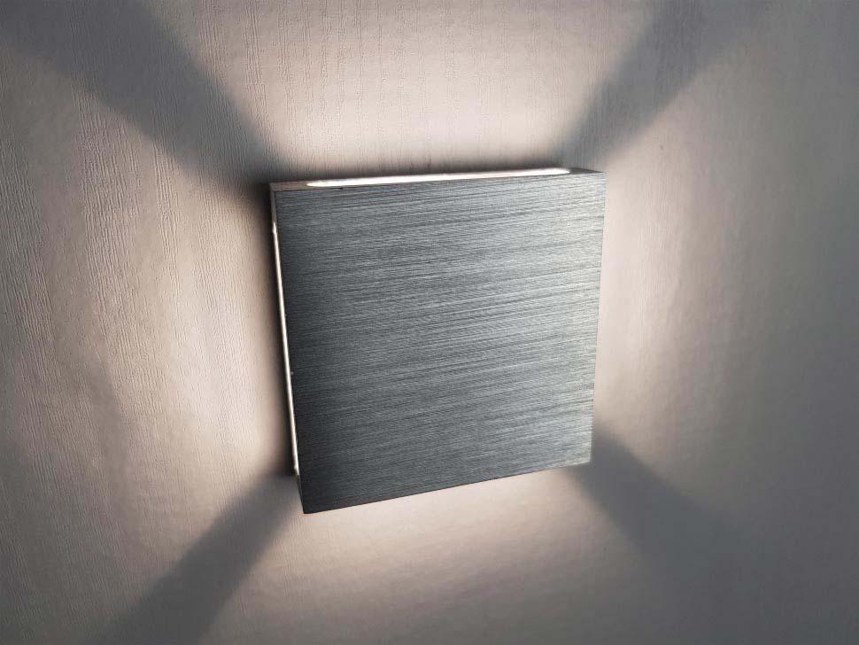 светильник квадратный для подсветки лестницы