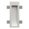Безрамочный гипсовый светильник выстраиваемый в стену Decorator ST-007 — купить в интернет-магазине с доставкой